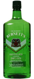 Burnett's Gin London Dry 750ml - Case of 12